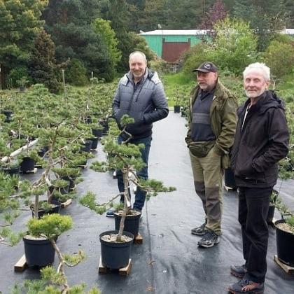Návštěva pěstitelů bonsají z kraje Vysočina